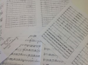 楽譜作成の見本